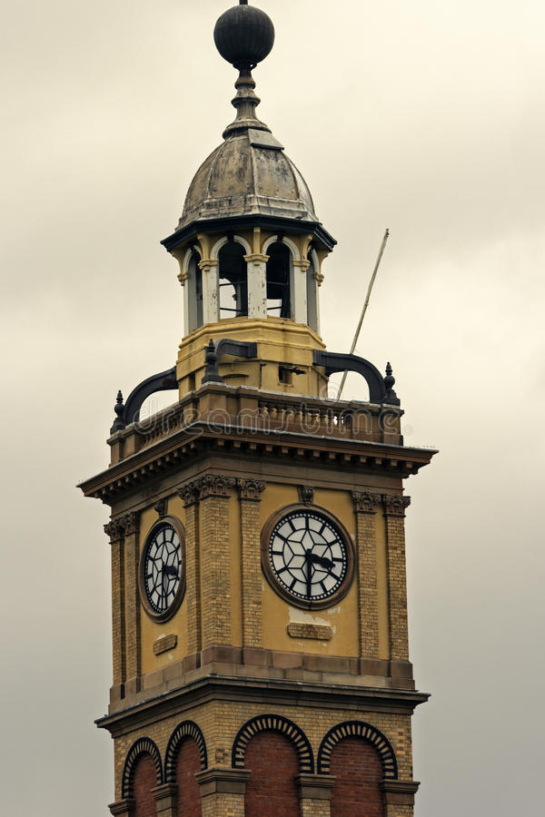 Torre di orologio a Newcastle immagini stock