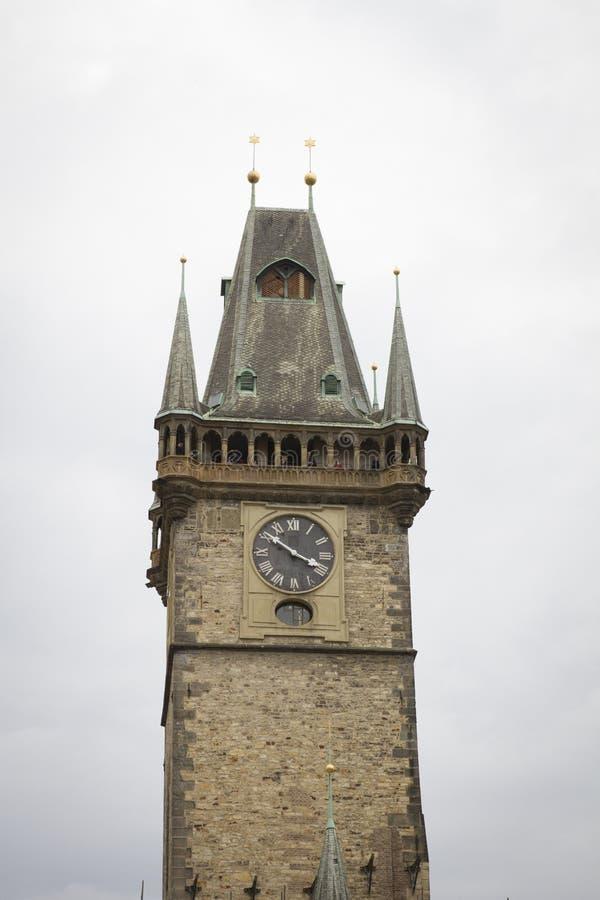 Torre di orologio Praga immagini stock libere da diritti