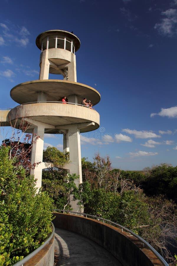 Torre di osservazione della valle dello squalo fotografie stock