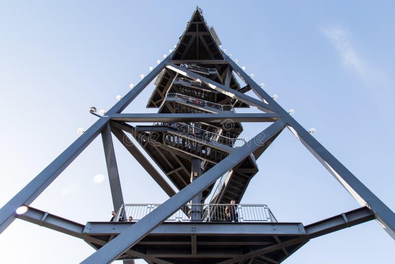 Torre di osservazione di Ãœetliberg immagini stock libere da diritti