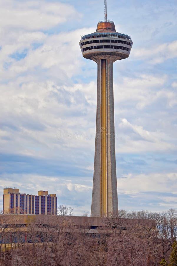 Torre di osservazione in Ontario nel Canada fotografia stock libera da diritti