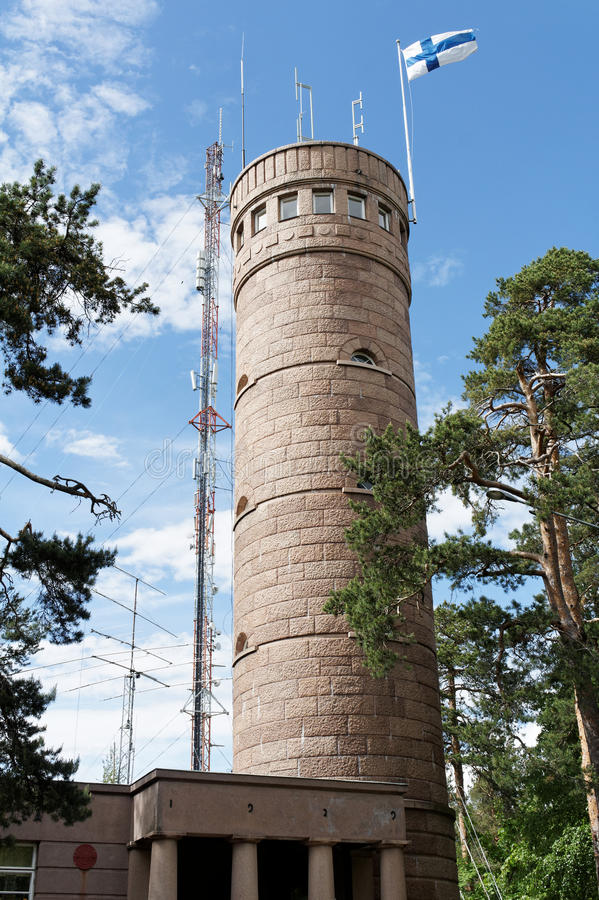 Torre di osservazione Pyynikin Näkötorni immagini stock
