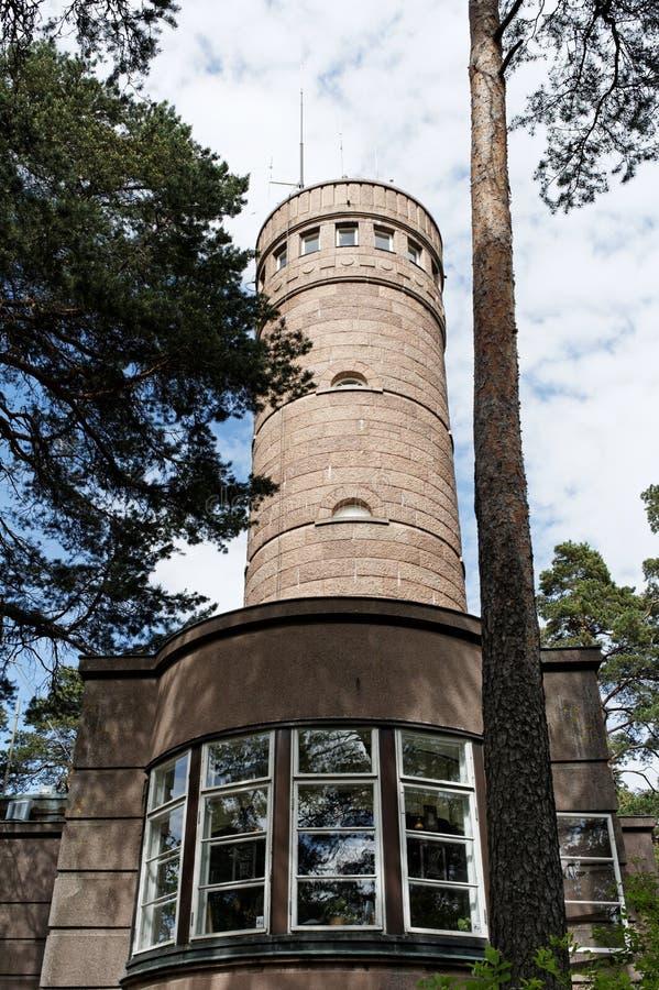 Torre di osservazione Pyynikin Näkötorni immagini stock libere da diritti