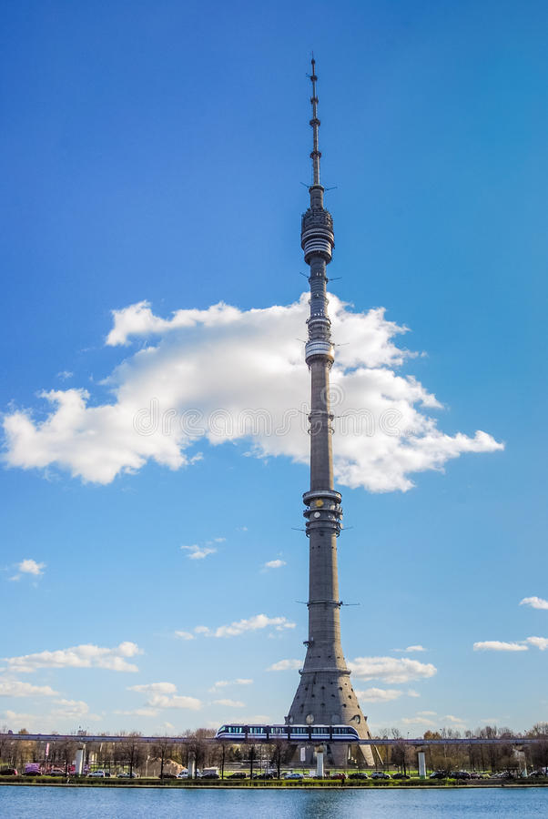 Torre di Ostankino fotografia stock
