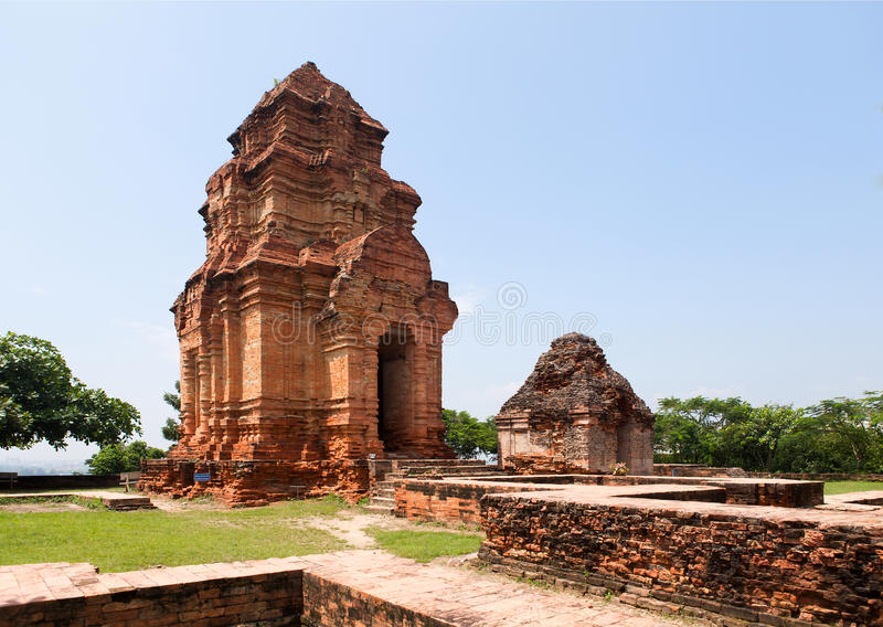 Torre di Posahinu Cham, Nha Trang, Vietnam immagini stock libere da diritti