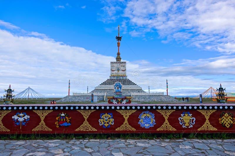 Torre di Sanshenglaze immagini stock