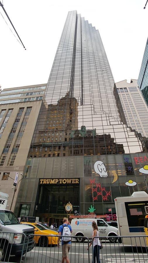Torre di Trump fotografie stock