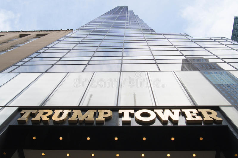 Torre di Trump a New York fotografia stock