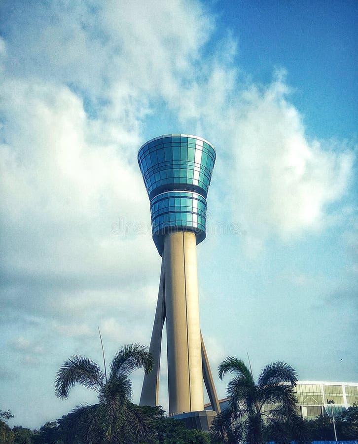 Torre do aeroporto de Mumbai foto de stock royalty free