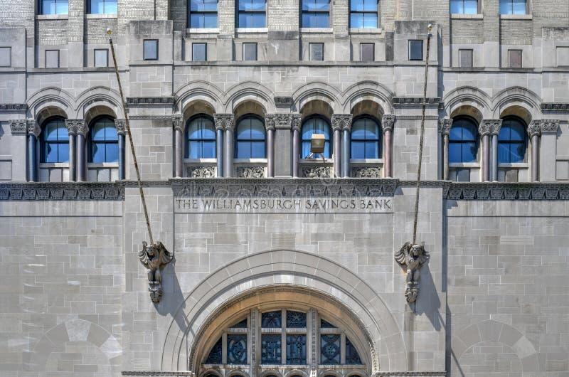 Torre do banco de poupan?a de Williamsburgh - Brooklyn, New York imagem de stock royalty free