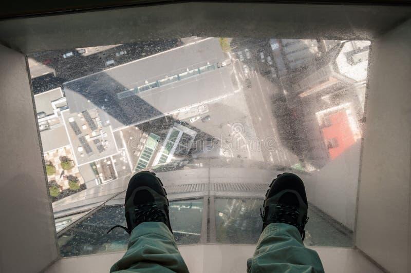 Torre do céu de Auckland imagens de stock royalty free