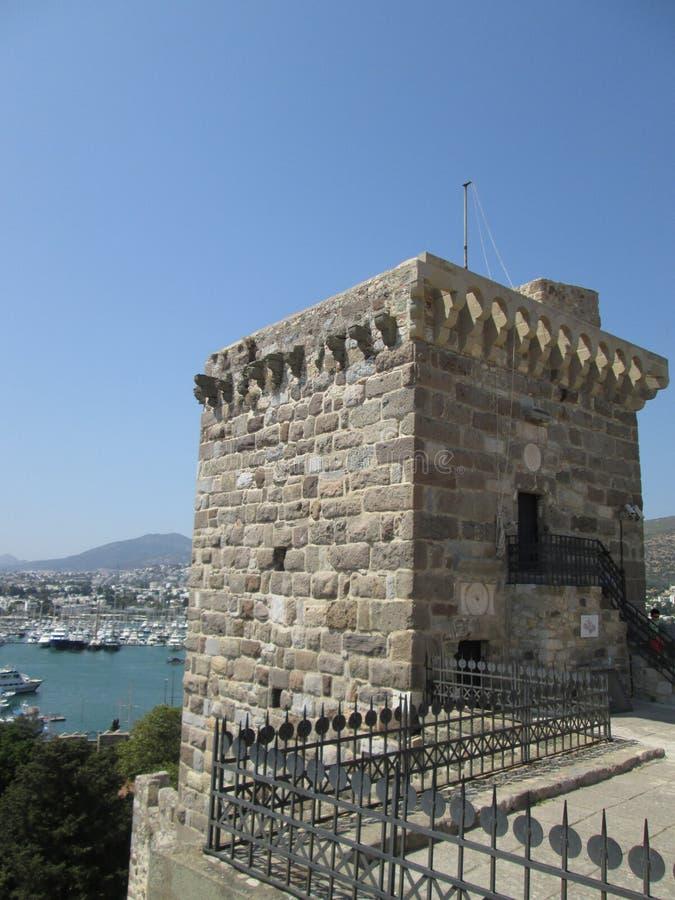 Torre do castelo de St Peter imagens de stock royalty free