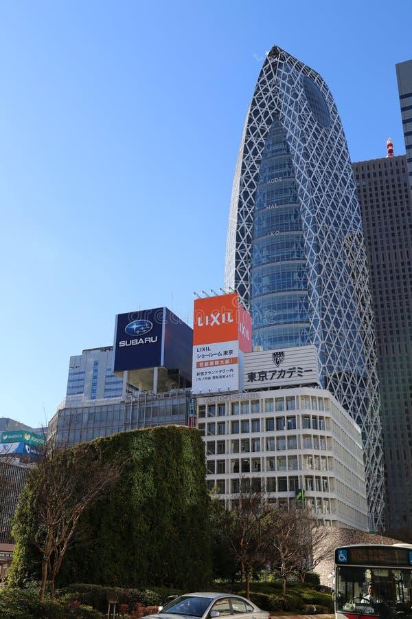 Torre do casulo de Gakuen da modalidade imagem de stock