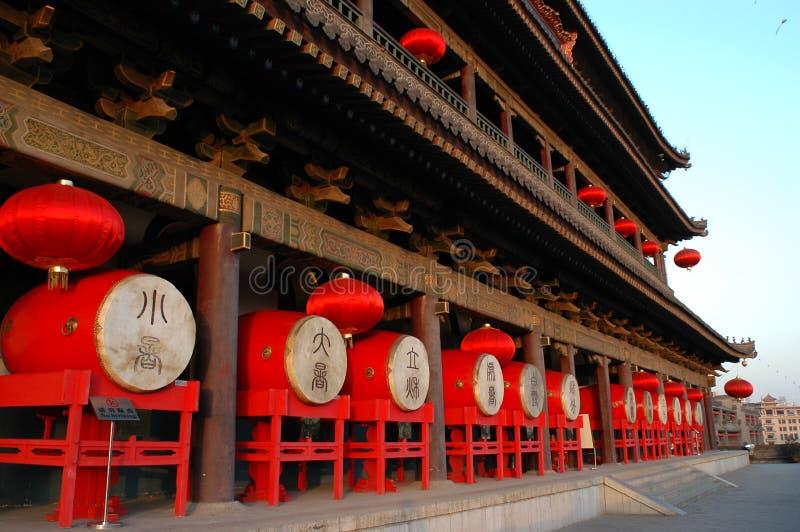 Torre do cilindro de Xian fotos de stock