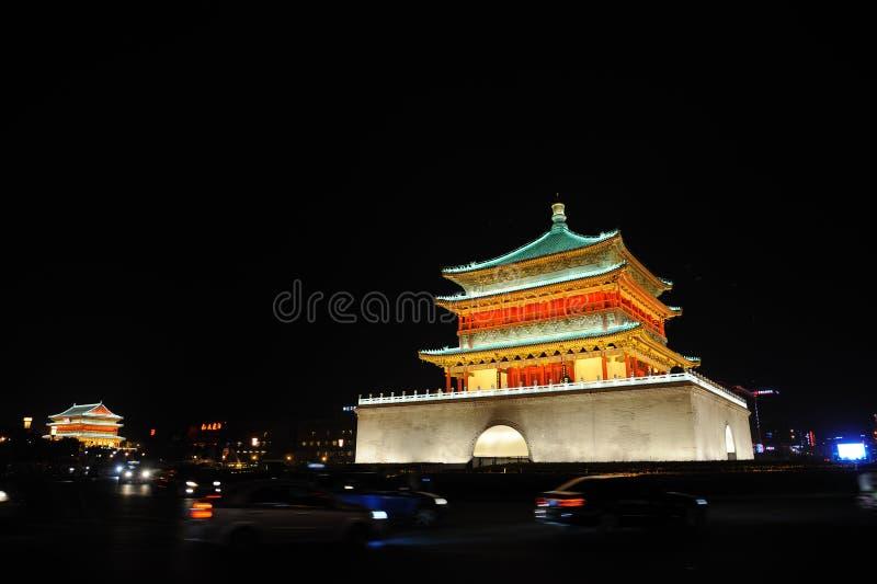 A torre do cilindro em xian imagens de stock royalty free