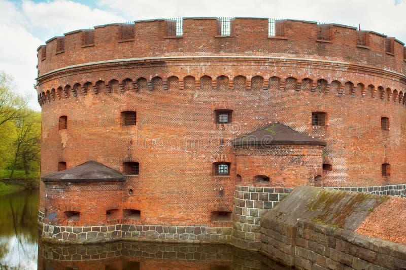 Torre do Dona de Der em Kaliningrad foto de stock