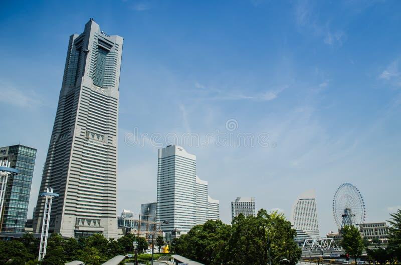 Torre do marco de Yokohama fotos de stock royalty free