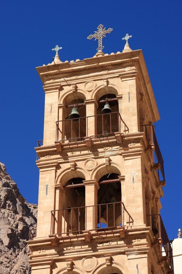 Torre do monastério de St. Catherine foto de stock royalty free