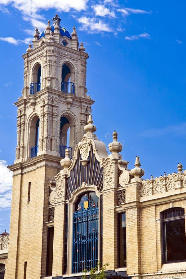 Torre do Moorish fotografia de stock