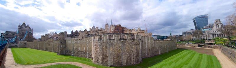Torre do panorama largo extra de Londres foto de stock royalty free