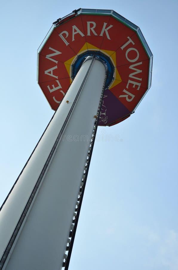 Torre do parque do oceano imagens de stock royalty free