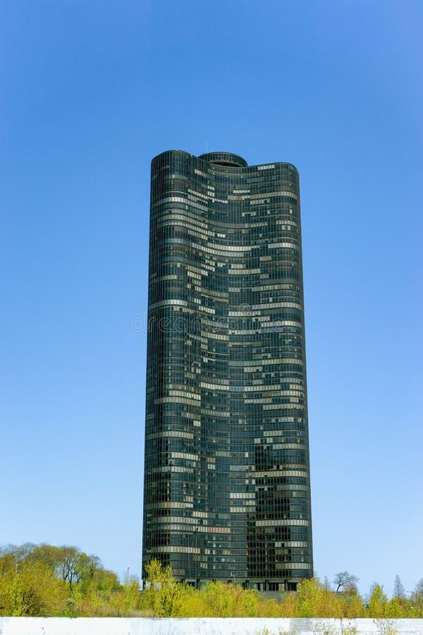 Torre do ponto do lago foto de stock royalty free