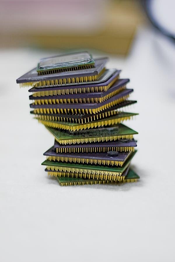 Torre do processador central imagens de stock royalty free