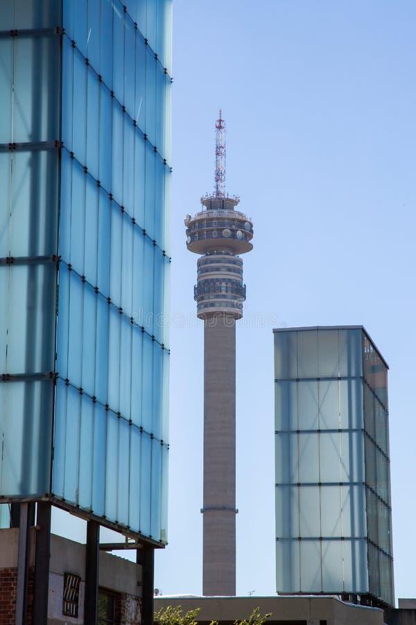 Torre do sinal em Joanesburgo imagens de stock royalty free