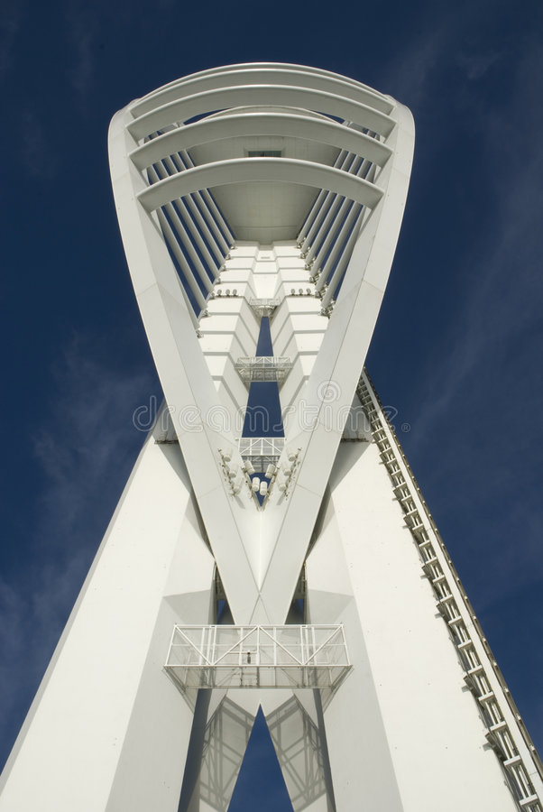Torre do Spinnaker em Portsmouth. Inglaterra imagem de stock royalty free
