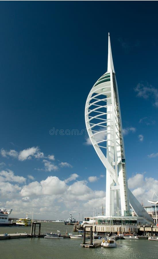 Torre do Spinnaker, Portsmouth imagens de stock