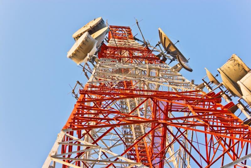 Torre do telefone fotos de stock royalty free