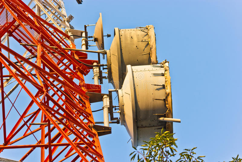 Torre do telefone fotos de stock