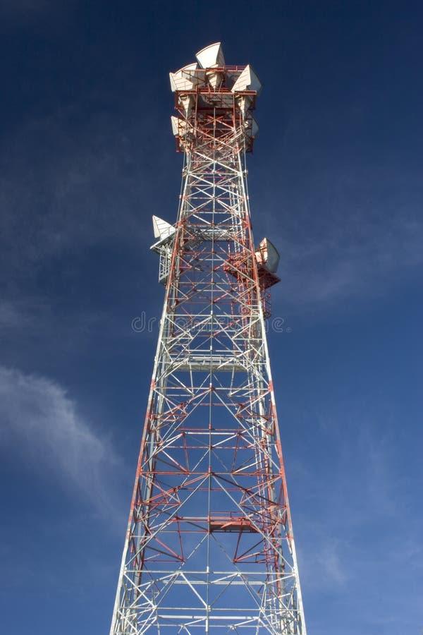 Torre do telefone fotografia de stock