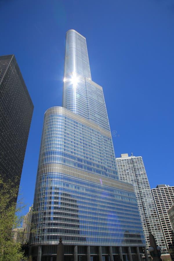 Torre do trunfo - Chicago imagens de stock royalty free