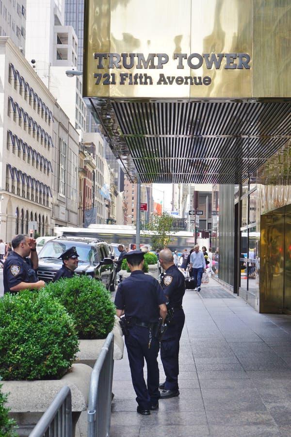 A torre do trunfo em New York foto de stock royalty free