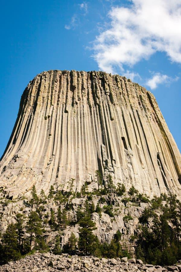 Torre dos diabos em Wyoming imagem de stock royalty free