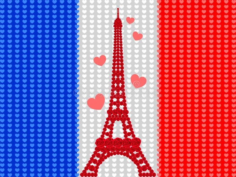 Torre Eiffel royalty illustrazione gratis