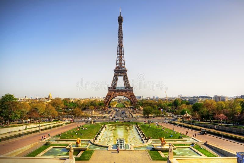 Torre Eiffel imagenes de archivo