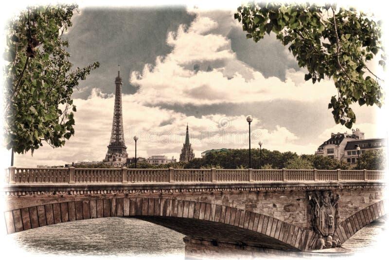 Torre Eiffel - fotos de archivo