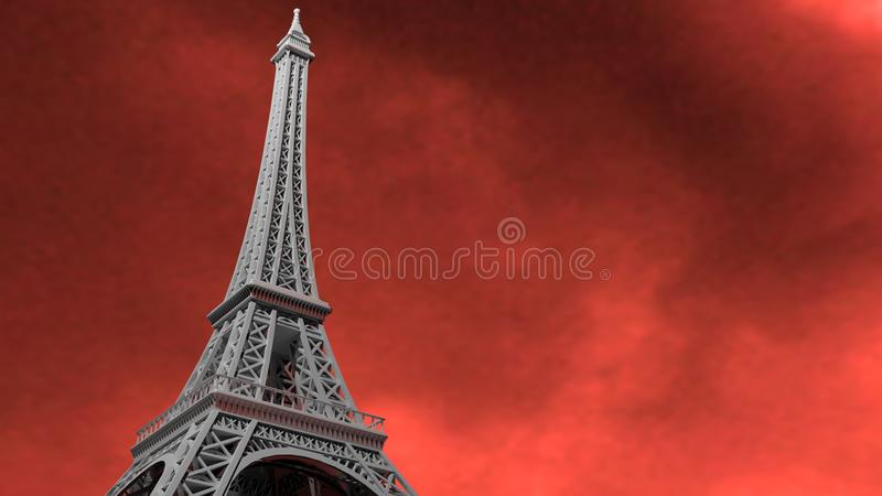 Torre Eiffel royalty illustrazione gratis