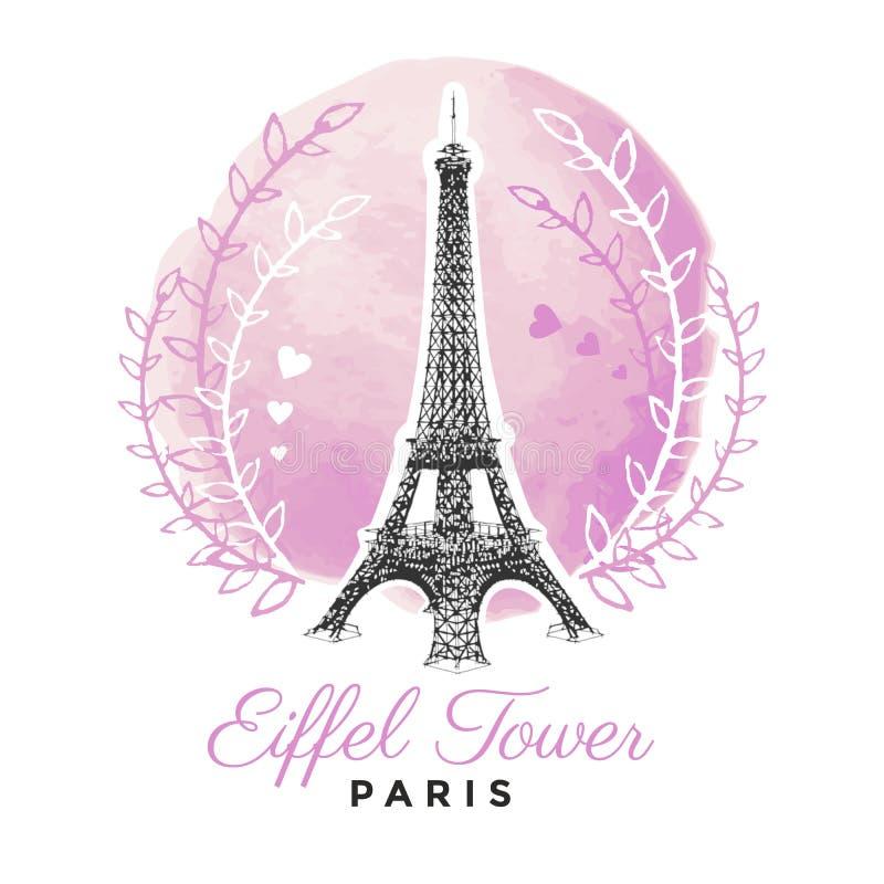 Torre Eiffel ilustração do vetor