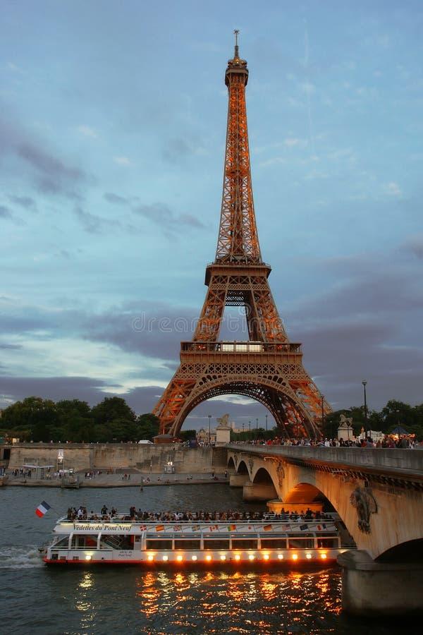 Torre Eiffel. imagen de archivo libre de regalías
