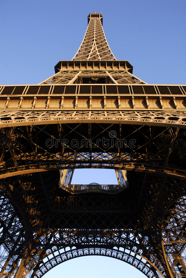 Torre Eiffel de Paris imagem de stock