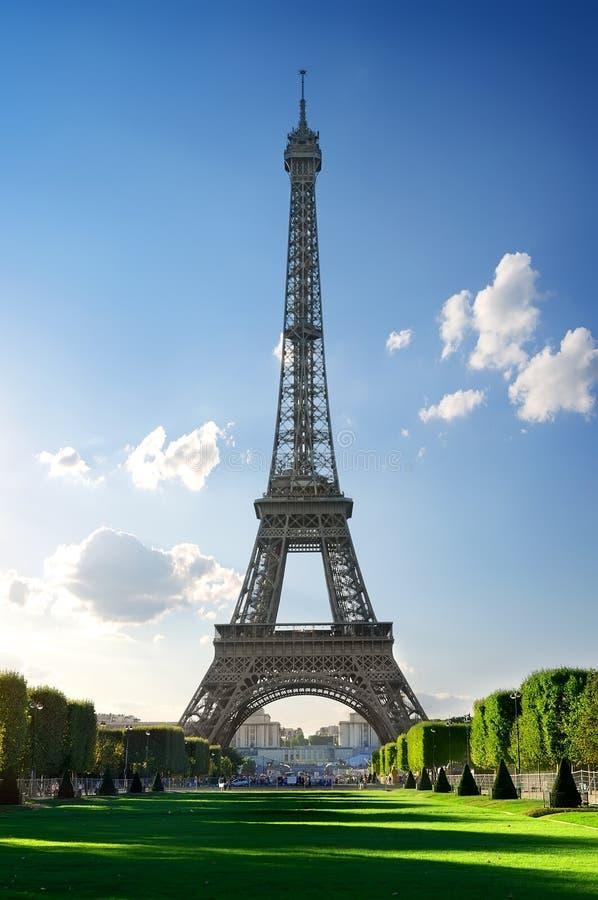 Torre Eiffel do metal imagens de stock