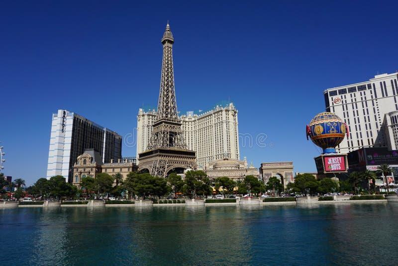 Torre Eiffel em Las Vegas foto de stock royalty free