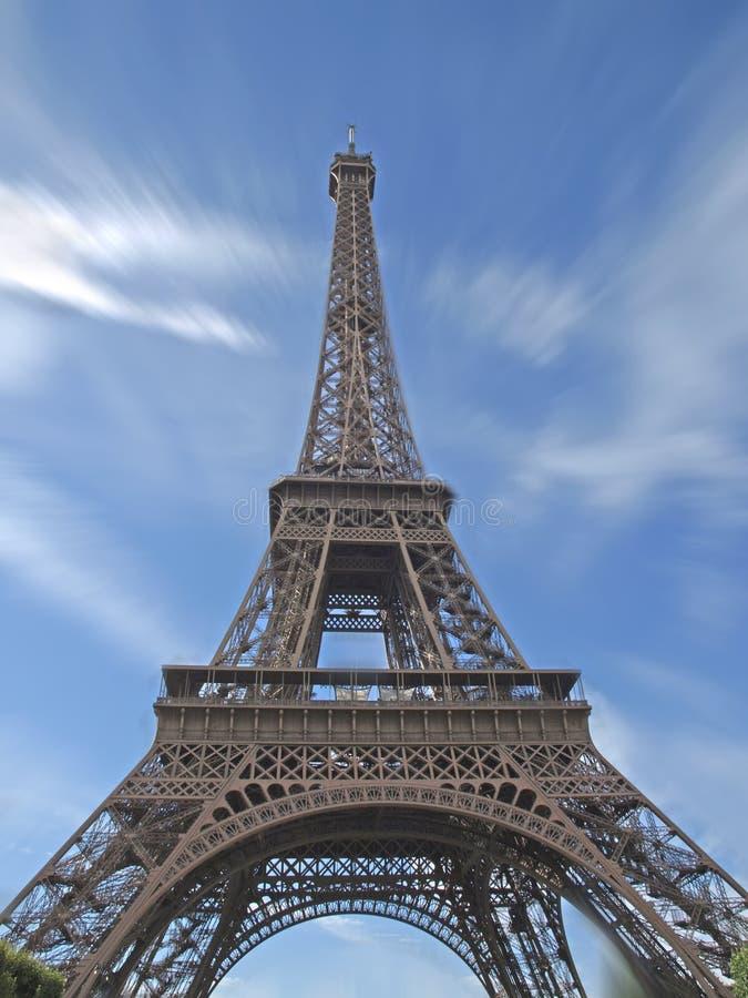 A torre Eiffel em Paris fotos de stock royalty free