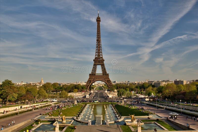 Torre Eiffel em Paris France foto de stock