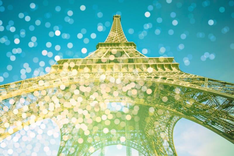 Torre Eiffel em Paris, France fotos de stock