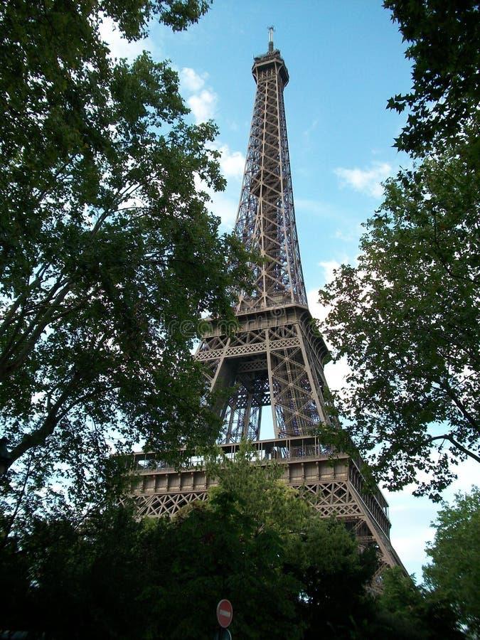 Torre Eiffel em Paris, France foto de stock royalty free