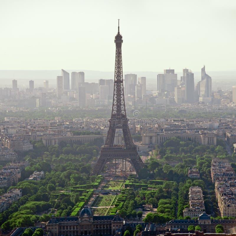 Torre Eiffel en París - Francia foto de archivo libre de regalías